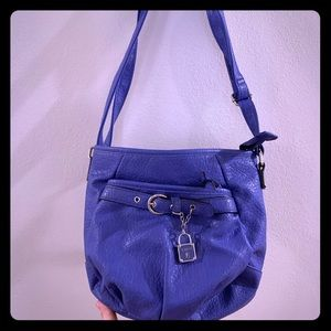 Medium size purple purse